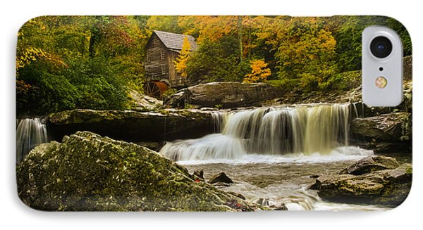 Glade Creek Grist Mill Phone Case by Shane Holsclaw