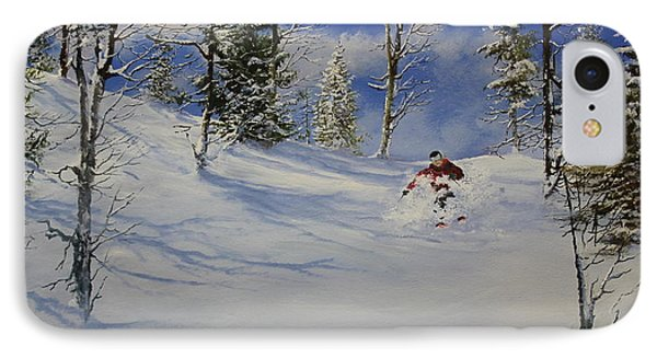 IPhone Case featuring the painting Glade Runner by Ken Ahlering