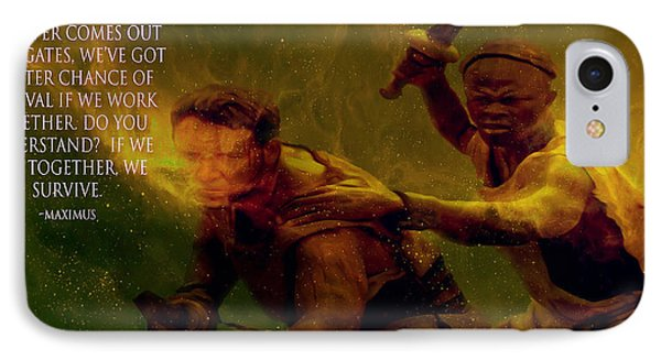 IPhone Case featuring the photograph Gladiator  by Brian Reaves