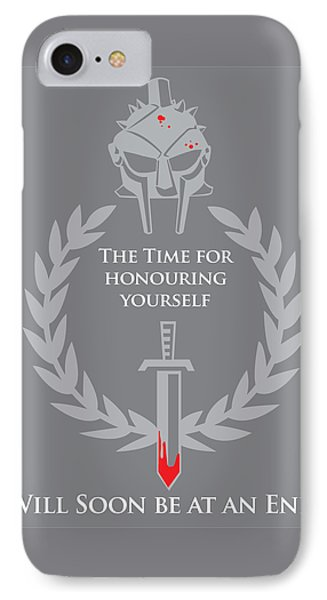 Gladiator IPhone Case by Timothy Lowry