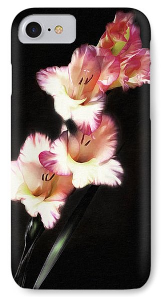 Gladiola Delight IPhone Case by Georgiana Romanovna
