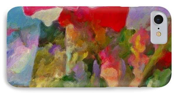 Gladiolas For Sale Roadside - Square IPhone Case by Lyn Voytershark