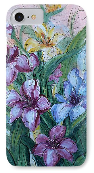 Gladiolus IPhone Case by Natalie Holland