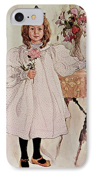 Gladys IPhone Case by Carl Larsson