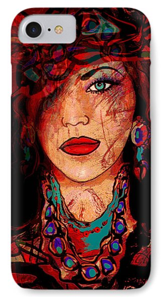 Glamor Phone Case by Natalie Holland