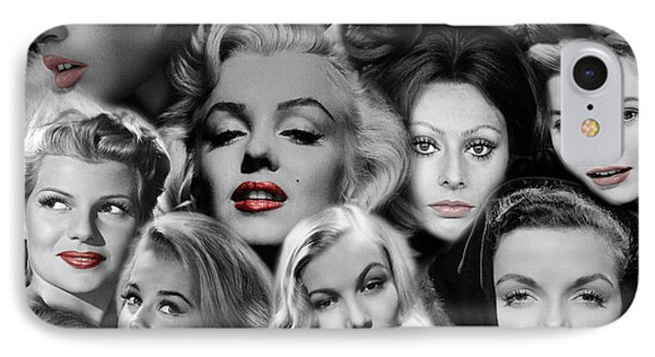 Glamour Girls 1 IPhone Case by Andrew Fare