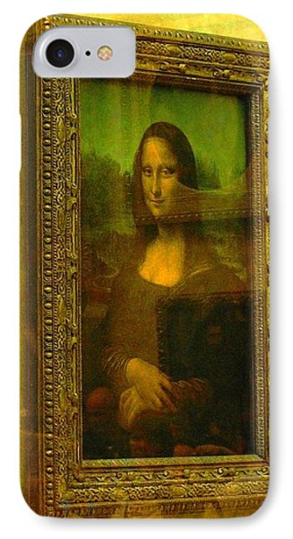 Glance At Mona Lisa IPhone Case by Oleg Zavarzin