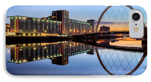 Glasgow Clyde Arc  Phone Case by John Farnan