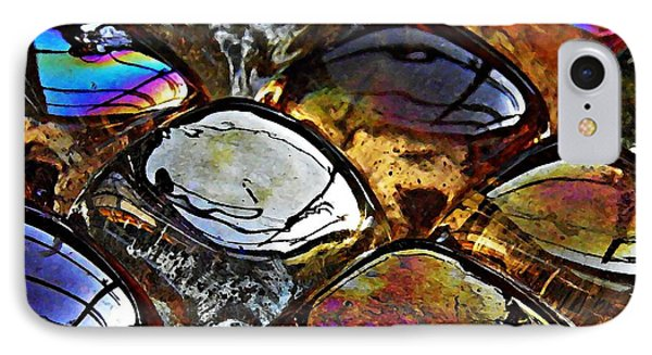 Glass Abstract 13 Phone Case by Sarah Loft