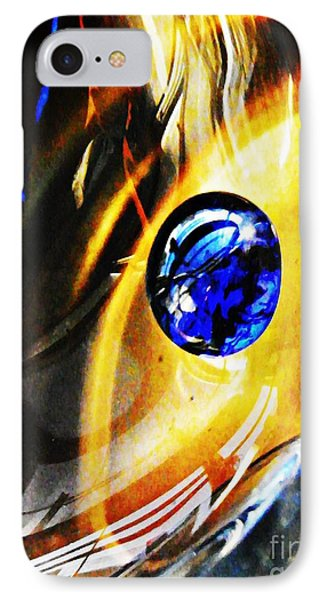 Glass Abstract 281 Phone Case by Sarah Loft