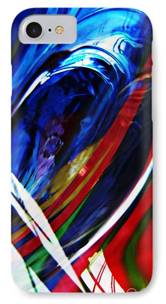 Glass Abstract 293 Phone Case by Sarah Loft