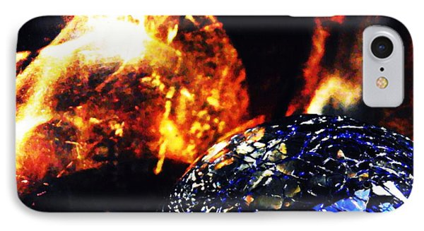 Glass Abstract 354 Phone Case by Sarah Loft