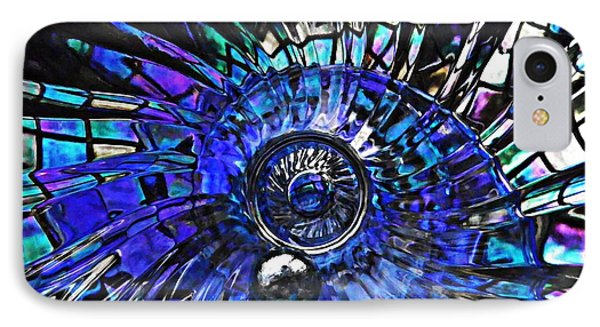 Glass Abstract 403 Phone Case by Sarah Loft