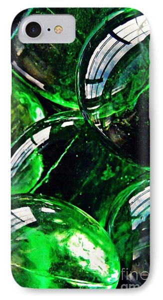 Glass Abstract 48 Phone Case by Sarah Loft