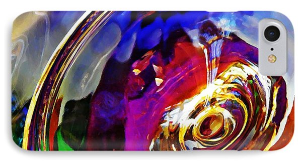 Glass Abstract 549 Phone Case by Sarah Loft