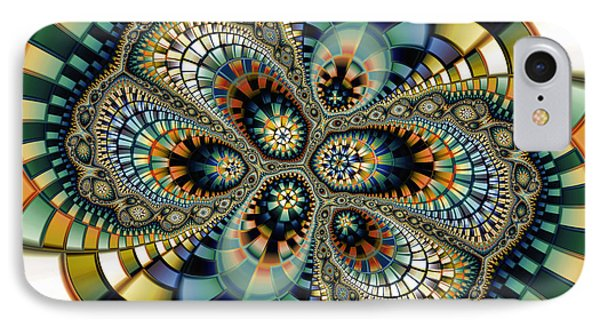 Glass Mosaic-geometric Abstraction Phone Case by Karin Kuhlmann