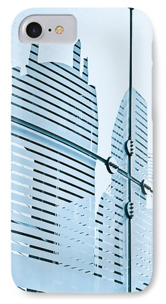 Glass Panels IPhone Case by Tom Gowanlock