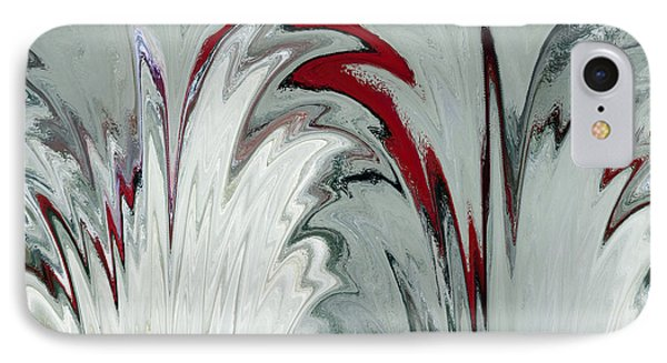 Glass Plumes IPhone Case