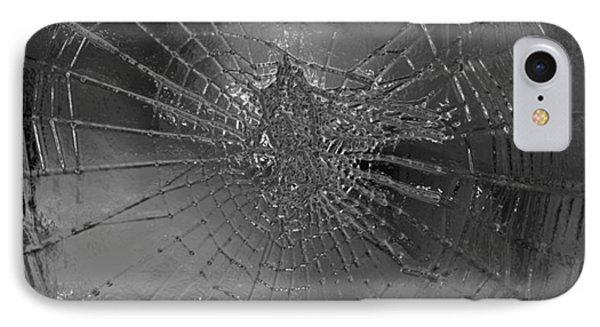 Glass Spider Phone Case by Carol Lynch