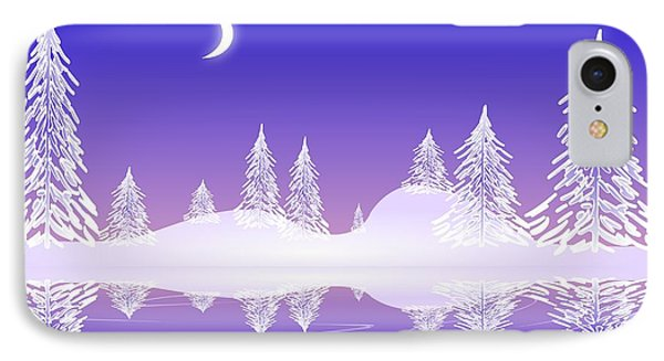 Glass Winter IPhone Case by Anastasiya Malakhova