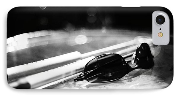 Glasses And Sticks Bw IPhone Case
