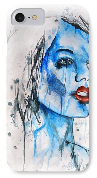 Glassy Girl Phone Case by Atinderpal Singh