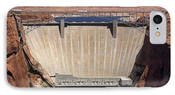 Glen Canyon Dam - Bridge IPhone Case by Mike McGlothlen