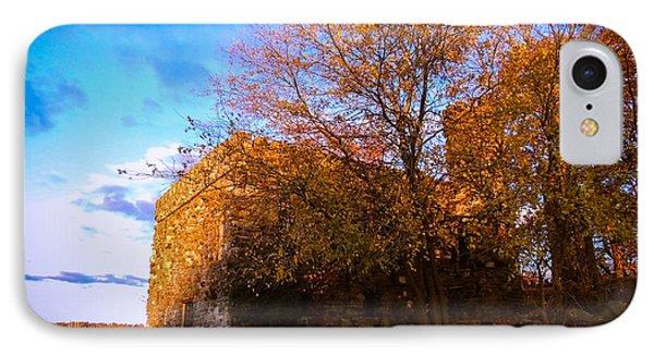 IPhone Case featuring the photograph Glen Island Castle by Glenn Feron