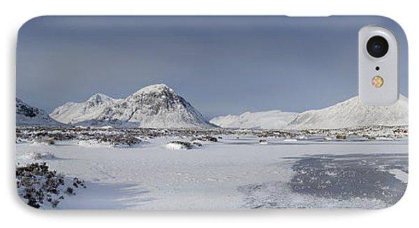 Glencoe And Buchaille Etive Panoramic IPhone Case