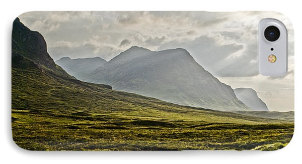 IPhone Case featuring the photograph Glencoe Scotland by Sally Ross