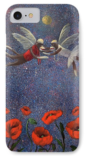 Glenda The Good Witch Has Flying Monkeys Too Phone Case by Randy Burns