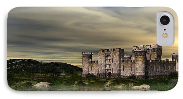 Glendor Castle IPhone Case by John Pangia