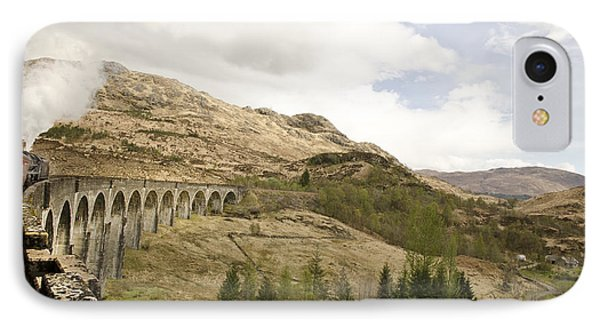 Glenfinnan Train Viaduct Scotland IPhone Case by Sally Ross