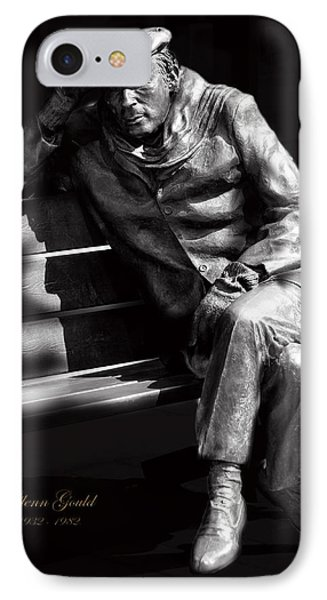 Glenn Gould Phone Case by Andrew Fare