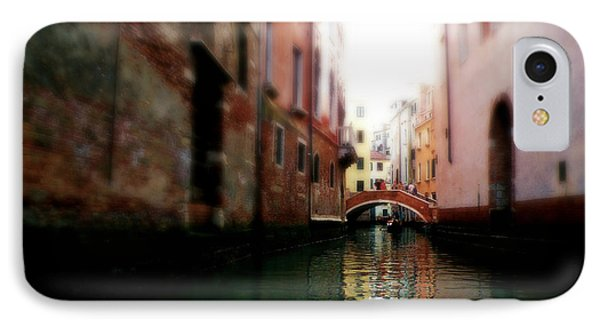 Gliding Along The Canal  IPhone Case by Micki Findlay