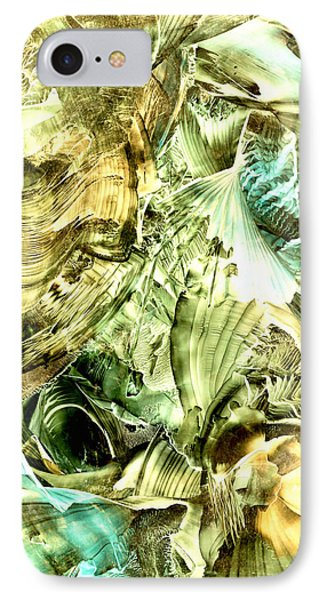 Glimpse Of New Gold IPhone Case by Cristina Handrabur