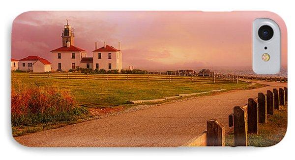 Glisten- Beavertail Park Rhode Island IPhone Case
