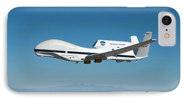 Global Hawk Unmanned Aerial Vehicle IPhone Case