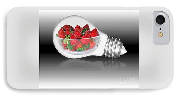 Global Strawberries IPhone Case by Kaye Menner