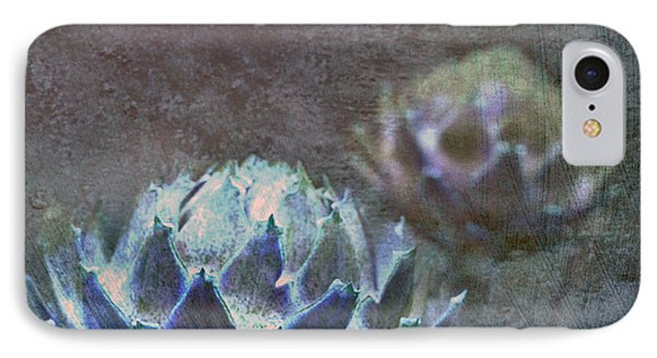 IPhone Case featuring the photograph Globe Artichoke by Liz  Alderdice