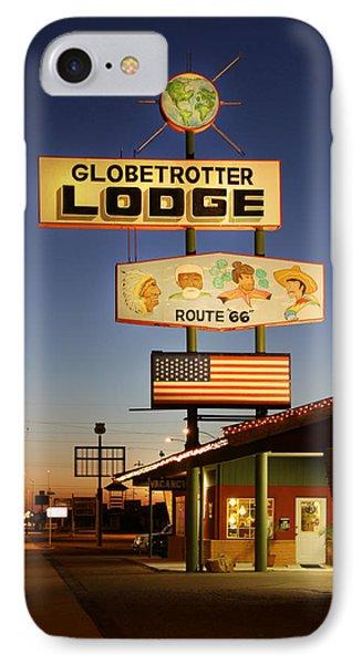 Globetrotter Lodge - Holbrook Phone Case by Mike McGlothlen