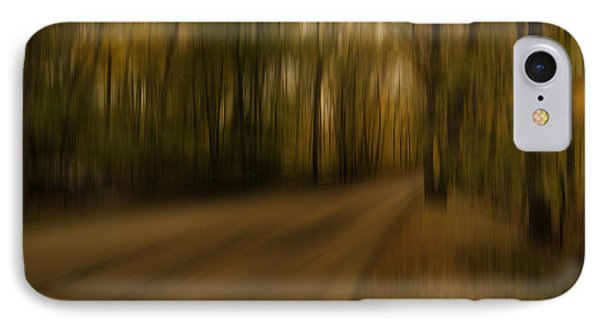 Gloomy Autumn IPhone Case