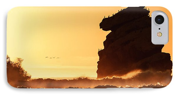 Glorious Afternoon At Morro Bay IPhone Case by Terry Garvin