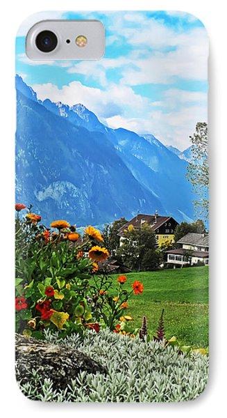 Glorious Alpine Meadow IPhone Case