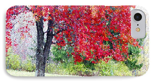 IPhone Case featuring the photograph Glorious Autumn by Mariarosa Rockefeller