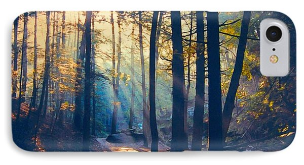 Glorious Forest Morning IPhone Case