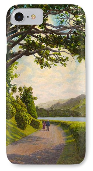 IPhone Case featuring the painting Glorious Galway by Joe Bergholm