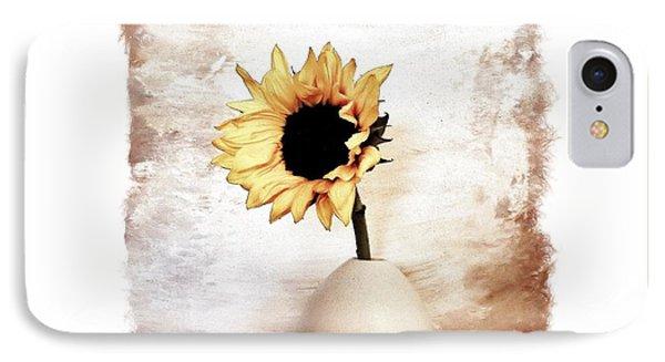 Glorious Sunflower IPhone Case by Marsha Heiken