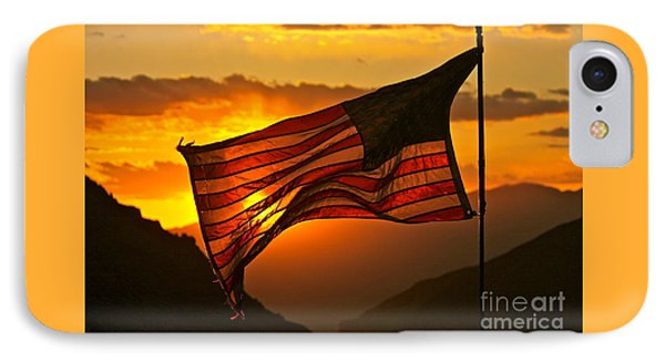 Glory At Sunset IPhone Case by Michael Cinnamond