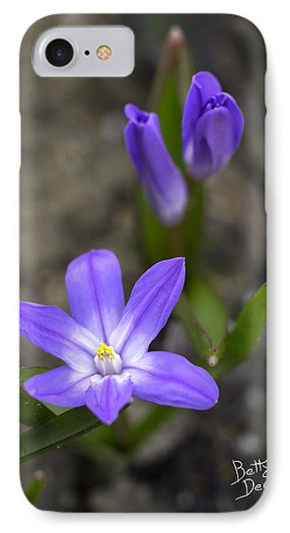 IPhone Case featuring the photograph Glory Of The Snow by Betty Denise